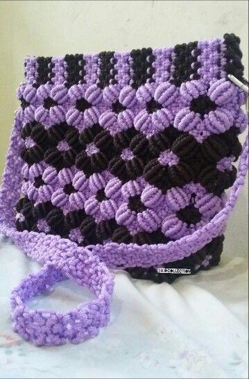 #purple #handmade #bags
