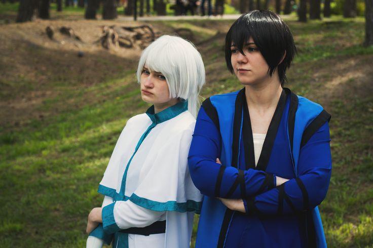 Kija: Risu-O. Son Hak: Neko_48. Photo by Irina Kuvaldina #暁のヨナ #akatsukinoyona #hak #kija #cosplay