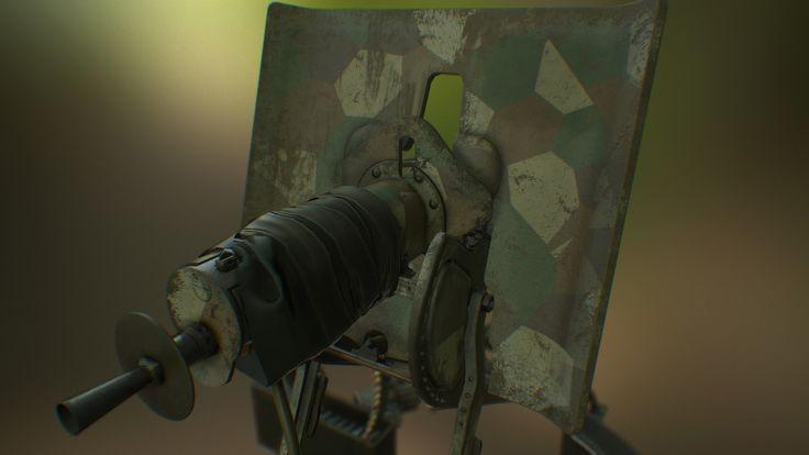 ArtStation - MG-08, Chillydog 3D