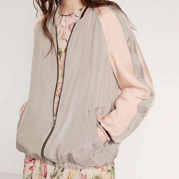 Zara Jackets & Coats - Zara bomber jacket