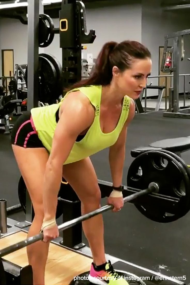 In lifting, we often stress the importance of full range of motion, and rightfully so. But, as two-time Olympia champion Erin Stern shows us, sometimes less is more.