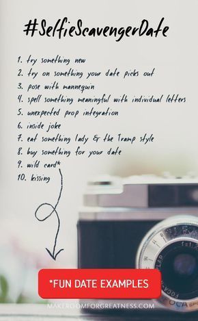 A fun date idea that is just the right mix of romantic, silly, adventurous, and yet chill! | photo scavenger hunt challenge for Valentine's Day or whenever, great for double dates, group dates, family dates!