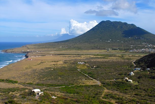 Statia's Quill - yup, I hike it  :-)  Up, down, and all around