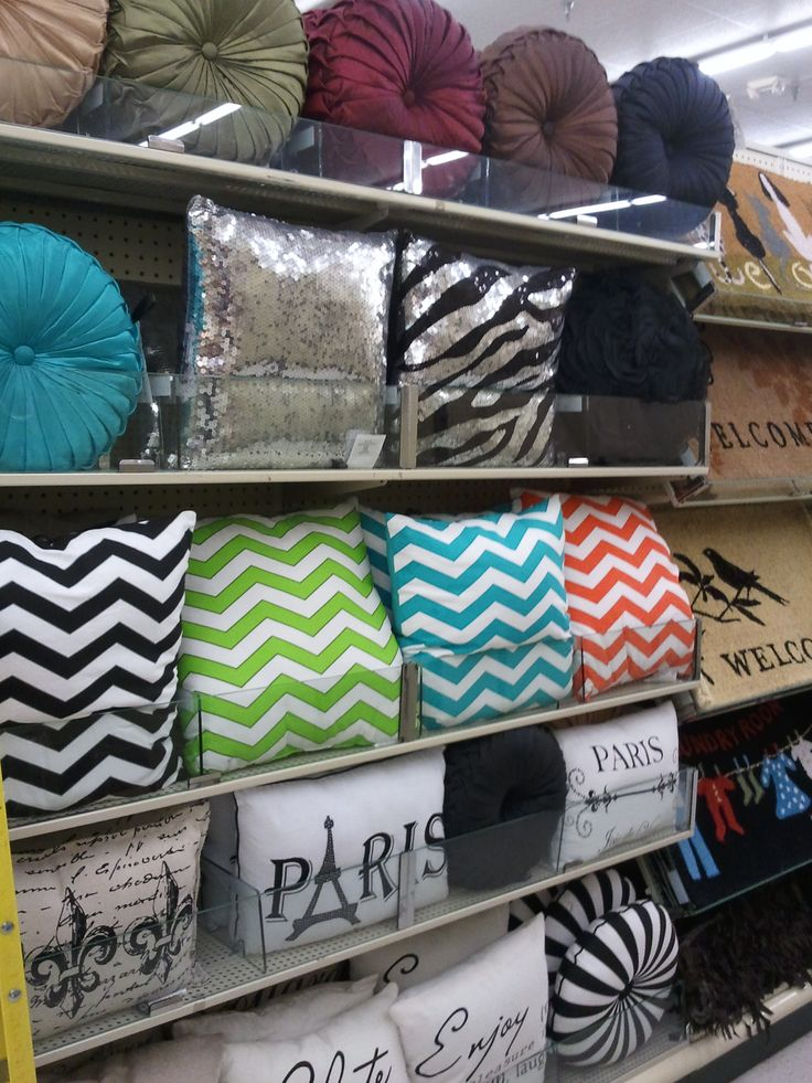 Decorative Pillows At Hobby Lobby : Eiffel Tower pillows and pillows with bling, from Hobby Lobby New Home Ideas Pinterest The ...