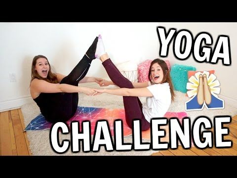 YOGA CHALLENGE avec Emma Verde! | Amélie Barbeau - YouTube