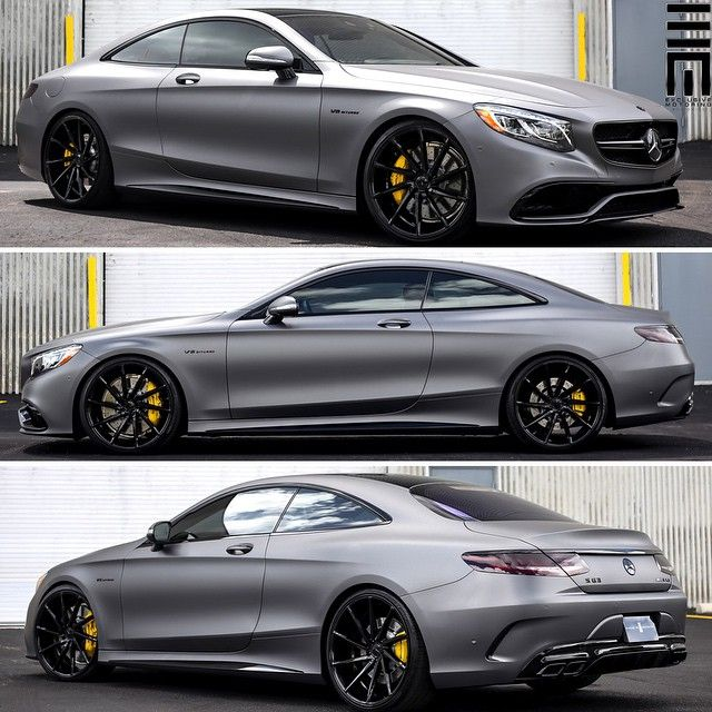 Mercedes benz s63 amg coupe customized by for Mercedes benz customized