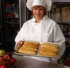 How to Make Crazy Bread  Little Caesar's Pizza has trademarked the name Crazy Bread, which refers to the restaurant's breadsticks. Crazy Bread is a type of soft breadstick that is made from pizza dough covered in garlic butter and Parmesan cheese. Occasionally, Romano cheese is also added as a topping.