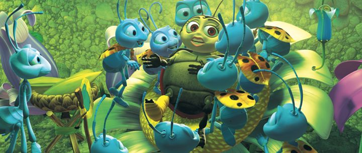 a movie analysis of disneys a bugs life Pixar and disney studios collaborate on this big screen movie about those tiny  creatures that are found everywhere a bug's life follows the.