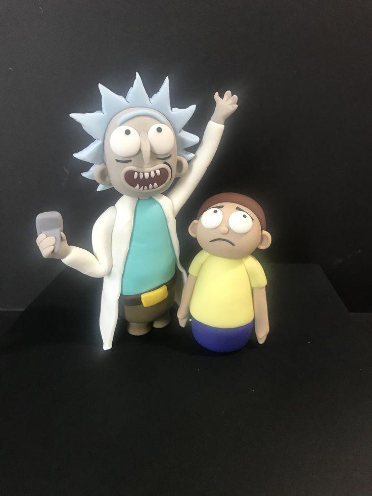 Rick & Morty   Fondant christmas cake, Rick and morty ...