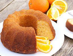 Receta de Chifón de naranja