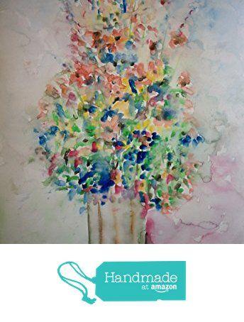 Flowers in vase from Patricia Abramovich https://www.amazon.com/dp/B073FLDCN9/ref=hnd_sw_r_pi_awdo_IzVHzb1080164 #handmadeatamazon