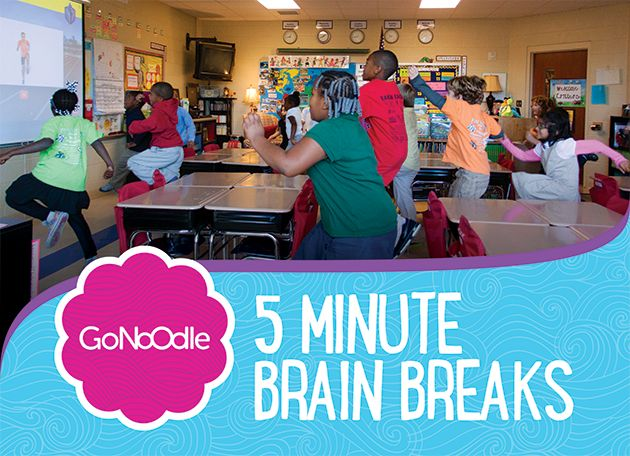 The most engaging and energizing brain breaks on the web - all in one site, kid-approved and free! GoNoodle.com @Go Noodle