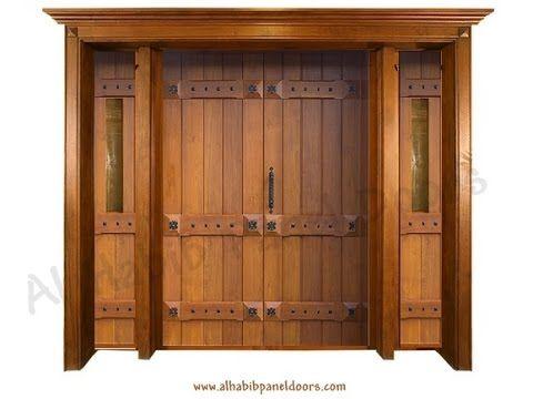 Wooden Main Doors Design For Home. 16 best Solid Wood Door Design images on Pinterest   Panel doors