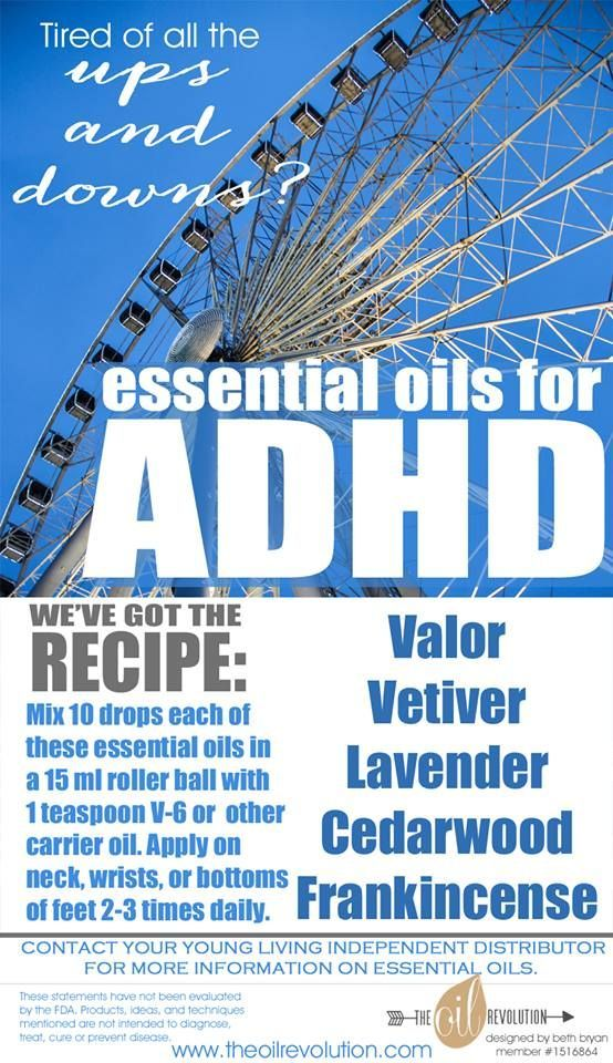 How to use essential oils for ADHD   Laura Nickelson YL member #1666197   SweetHomeOils.com