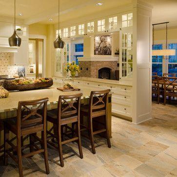 26 best images about divider between kitchen on pinterest - Kitchen and living room divider ...