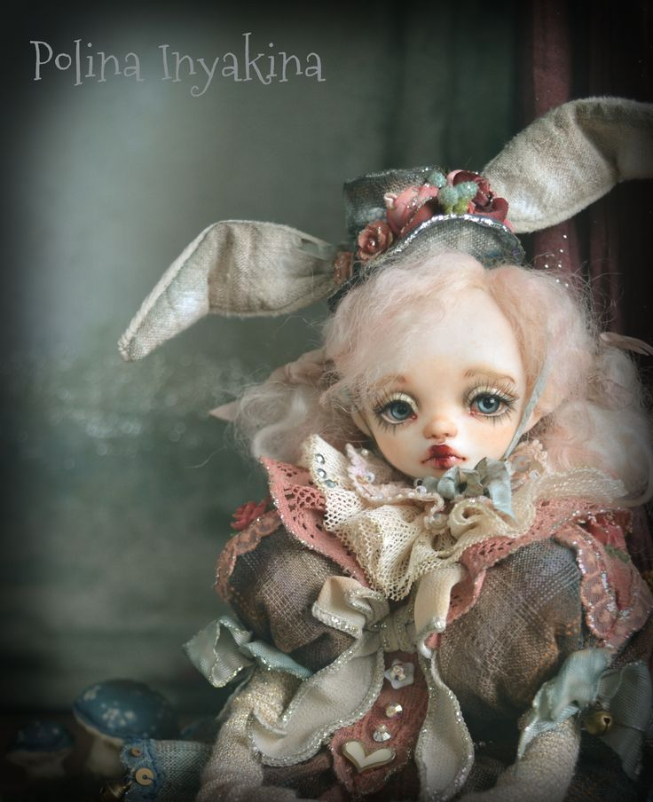 A repin of a doll created by Polina Inyakina, a medium-resolution photo