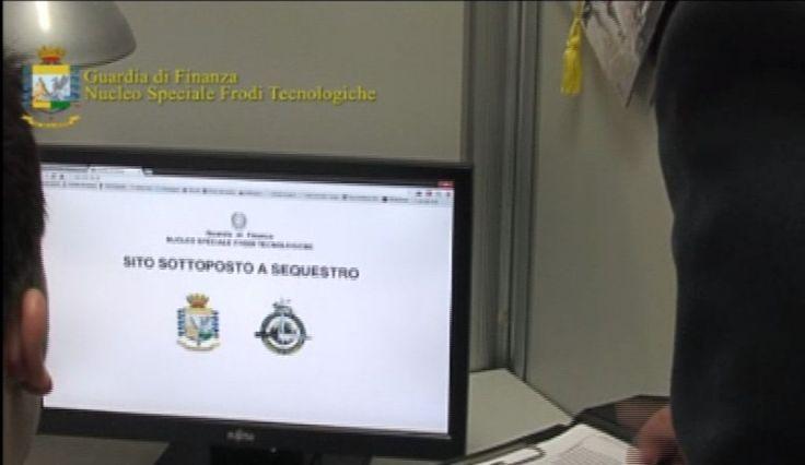8 indagati per pirateria informatica e 20 siti oscurati: l'operazione della Guardia di Finanza