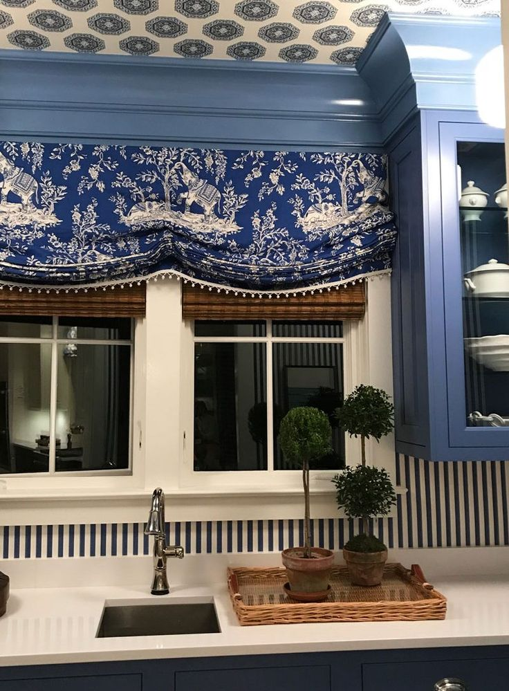 Mark D. Sikes: A Private Newport Experience - wallpaper on the ceiling