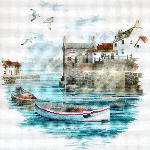 Derwentwater-Designs-Secluded-Port-Cross-Stitch-Kit