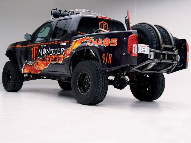 monster frontier rear