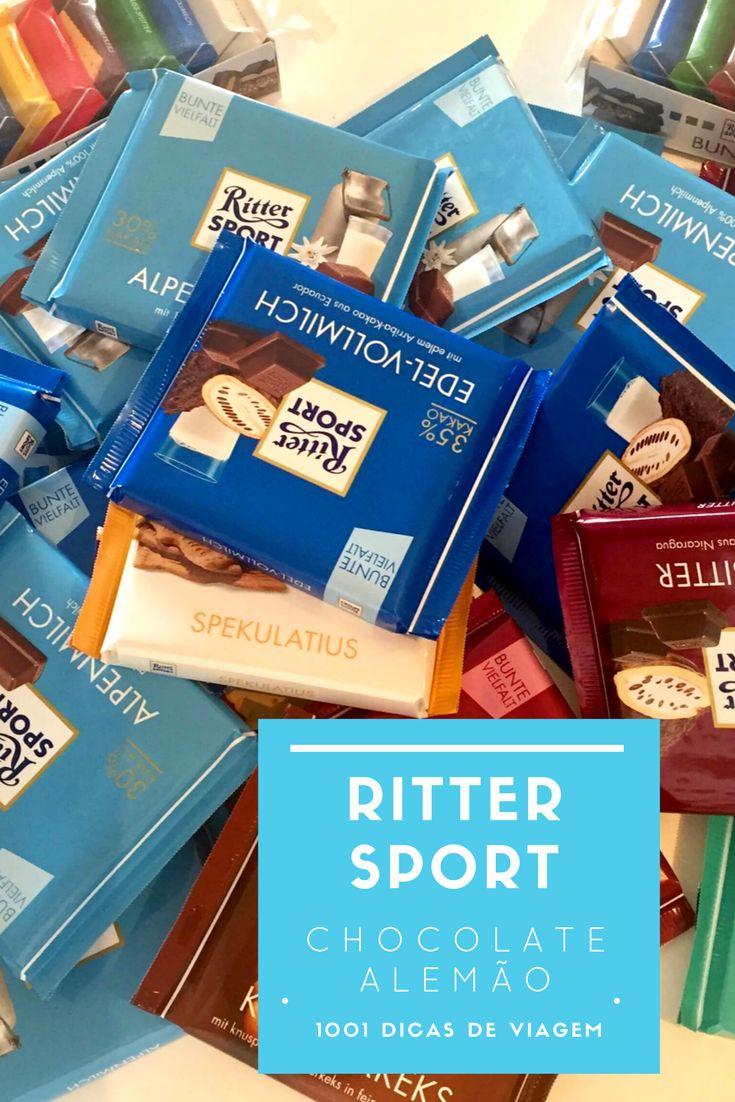 Ritter Sport o maravilhoso chocolate alemão 1001 Dicas