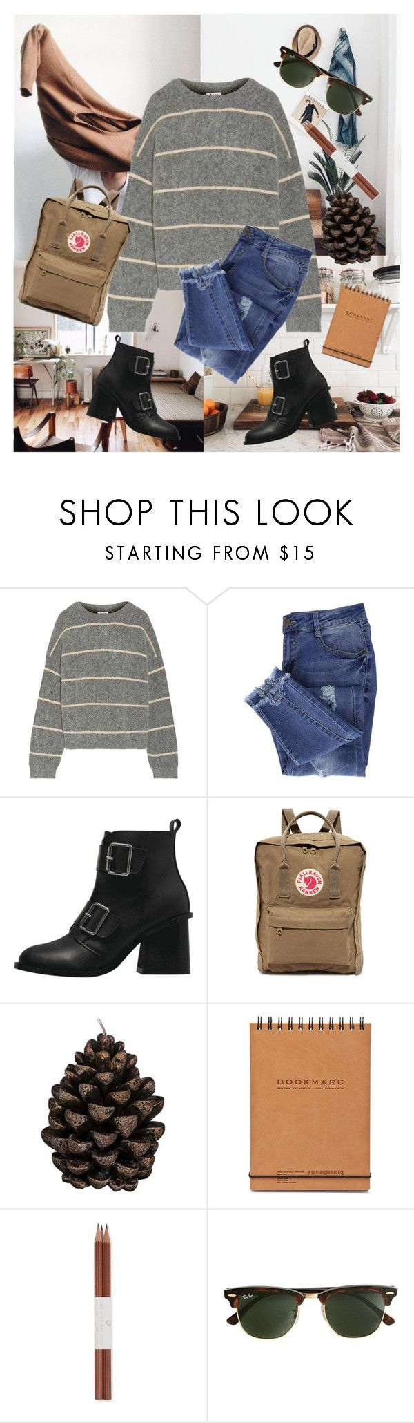 """""""Strange Things are happening..."""" by marabellax ❤ liked on Polyvore featuring Acne Studios, Essie, Fjällräven, Broste Copenhagen, Faber-Castell and J.Crew"""