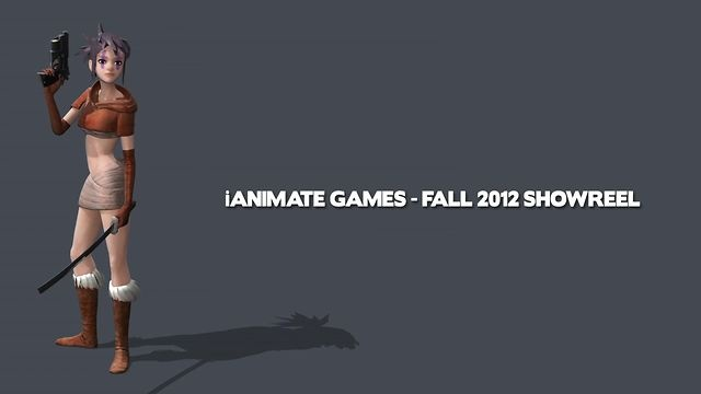 iAnimate Games - Fall 2012 Showreel by iAnimate. This student showcase contains work from the following animators: