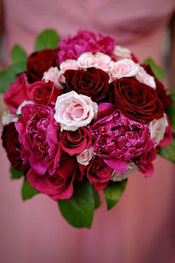 Red burgundy oxblood maroon wedding colors table setting wedding bouquet and flower ideas - Color schemes with maroon ...