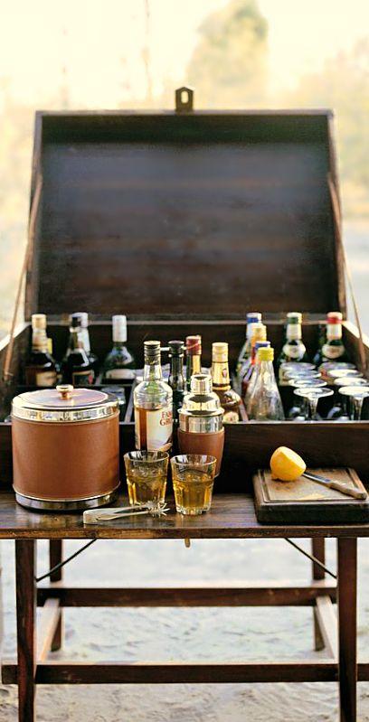 Great wooden bar