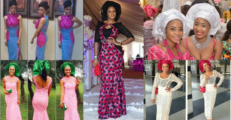 Nigeria Fashion Trending Collages From Nigerian Fashion Police Pinterest Lace Fashion And
