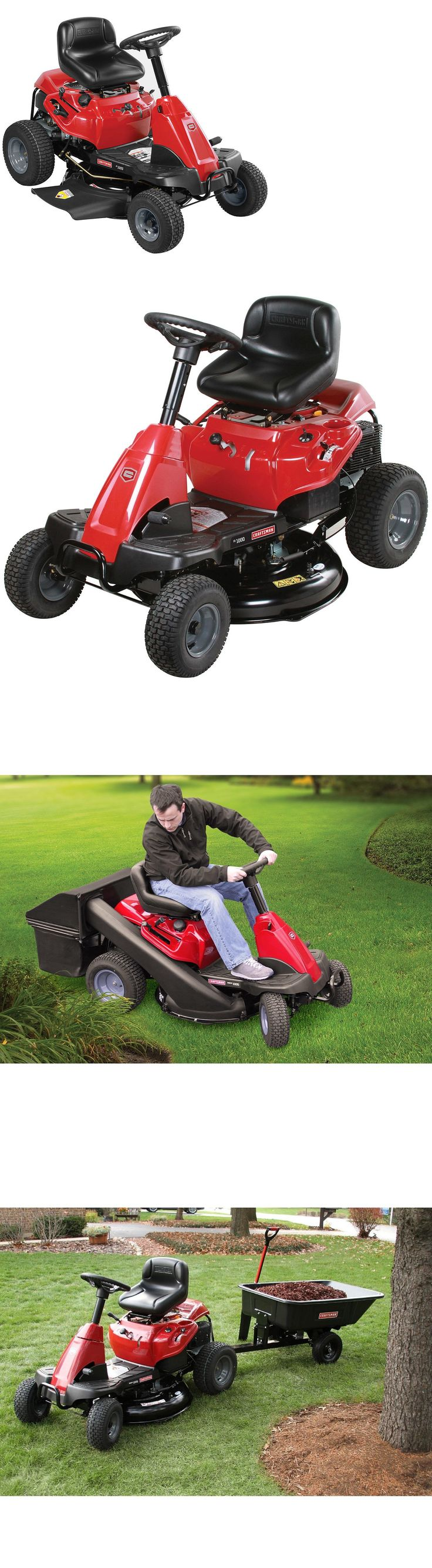 Riding Mowers 177021: Factory New Craftsman Small Yard Rider 30 420Cc 6-Speed Lawn Mower And Mulch Plug -> BUY IT NOW ONLY: $1189 on eBay!