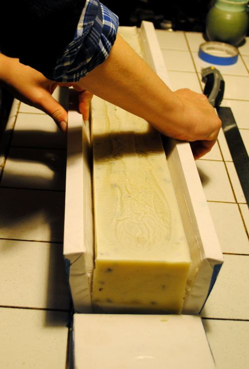 simple homemade soap mold