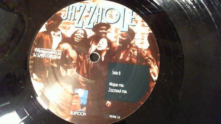 "THE JAZZHOLE Forward Motion (Acid Jazz Hip Hop 12"") Permanent 1994 German Import #JazzyHipHop"