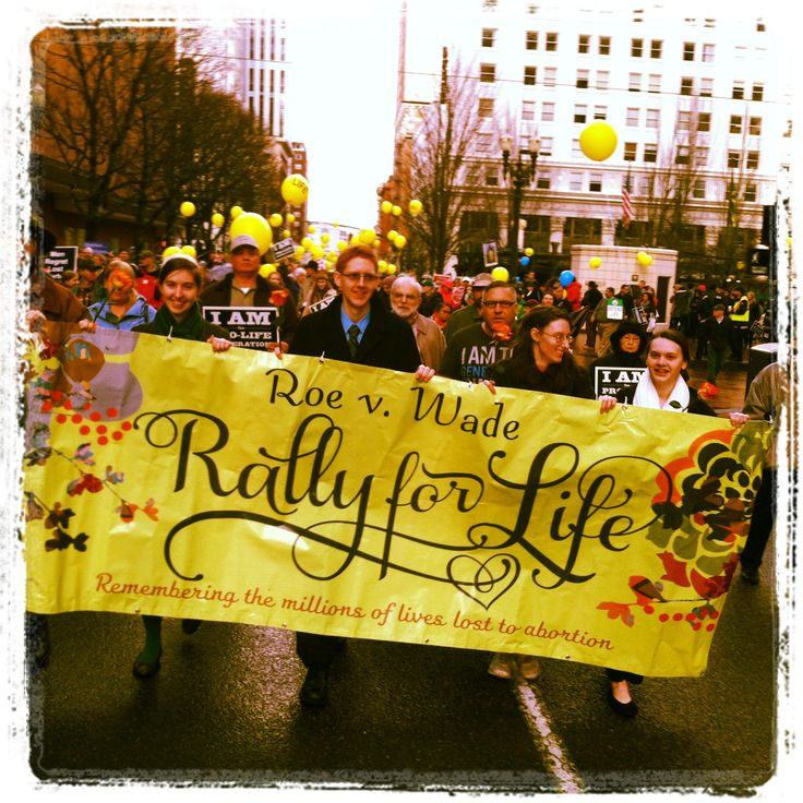 Roe v Wade Memorial Rally and March