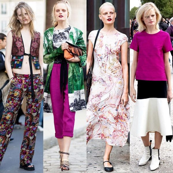 It is hard to define Hanne Gaby Odiele's ever-changing style. She could be seen stomping New York street in a black structured leather jacket and a pair of thick Dr. Frankenstein boots one day, channeling the long-gone punk days, but she could also be spotted sweeping Paris cobblestone in a head- to-toe relaxed Dries Van Noten number, portraying a modern-day hippie. More of her effortlessness on our blog... Link on bio! #WomenKrushWednesdays