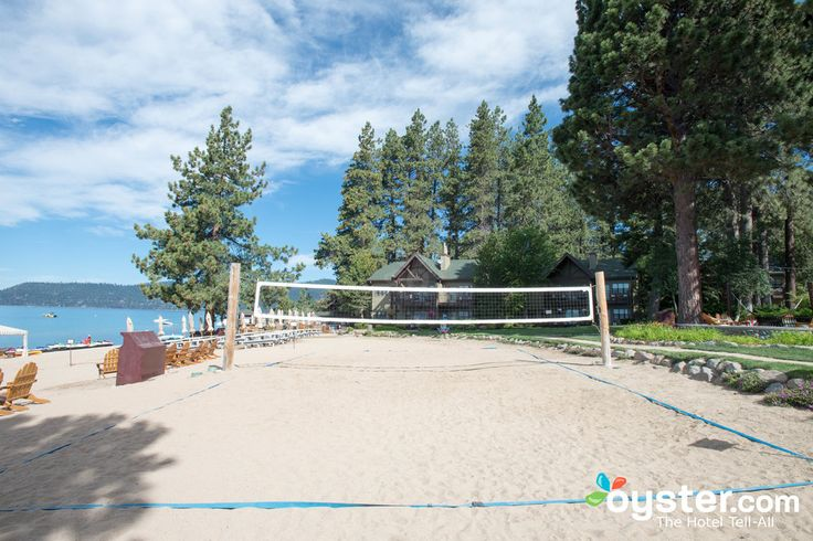 Beach Volleyball at the Hyatt Regency Lake Tahoe Resort, Spa and Casino