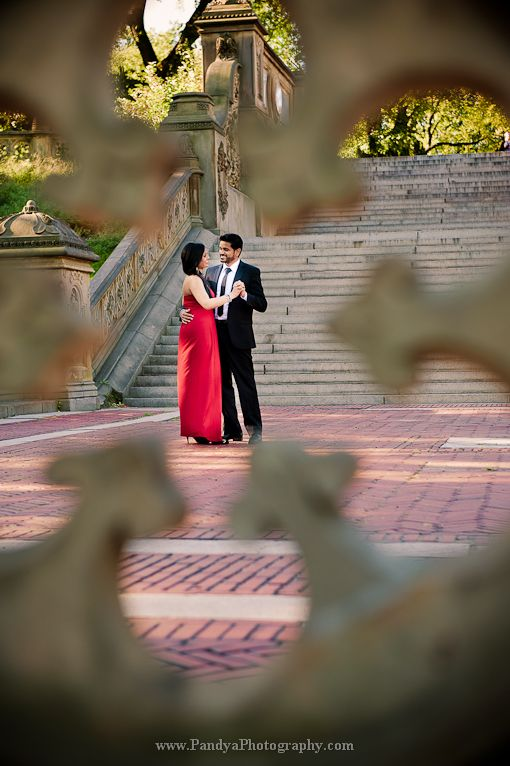 NYC Indian Engagement Session by Pandya Photography