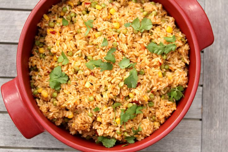 Mexican Red Rice | Taste of Mexico | Pinterest