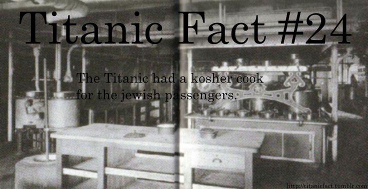 Titanic Fact #24