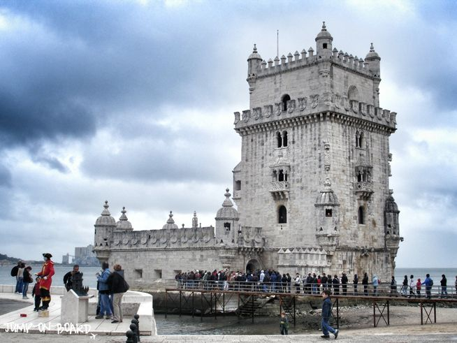 Torre de Belem in Lisbon, Portugal *** read more about my trip to Lisbon on www.jump-on-board.com