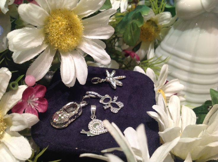 Mini jewellery series with #Silver #Pendants for #Firstcommunion ideas