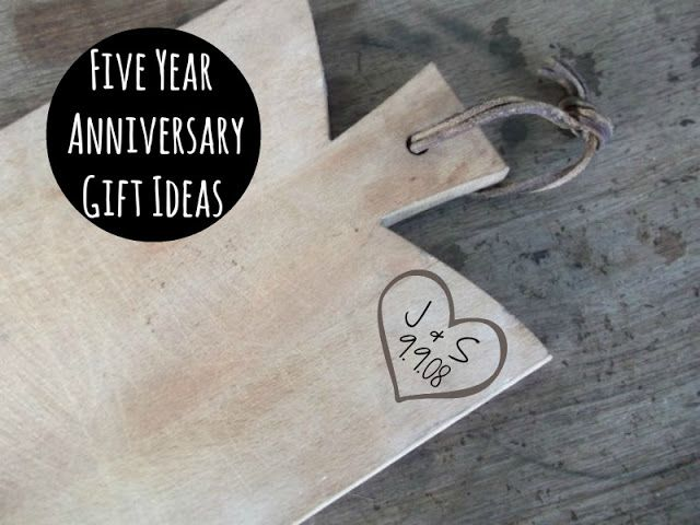 Five year anniversary gift ideas wedding pinterest for 5 year anniversary decorations