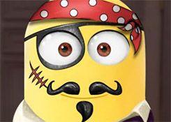 JuegosdeMinion.com - Juego: Pintar Cara de Minion - Jugar Juegos Gratis Online Flash