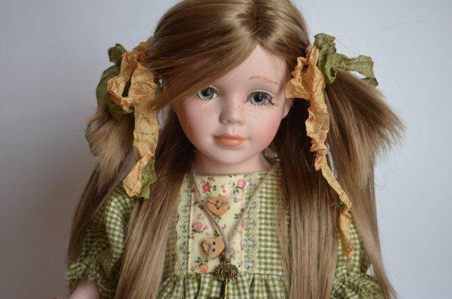 Мои переделки! Переделка фарфоровой куклы