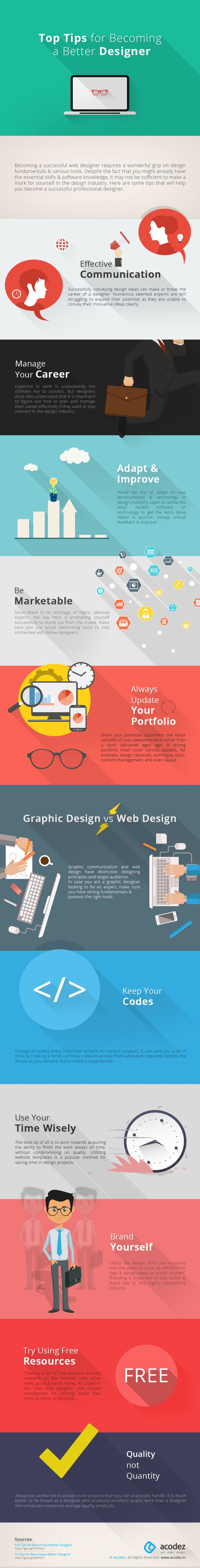 Web and Visual Design: Top Tips for Becoming a Better Designer