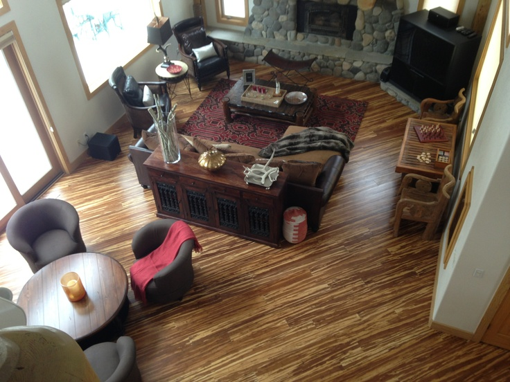 Cali bamboo wide plank marble flooring installed by renew for Hardwood floors 45 degree angle