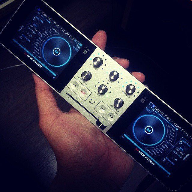 Monster Go DJ Portable Mixer dj, music, portable, professional, revolutionary