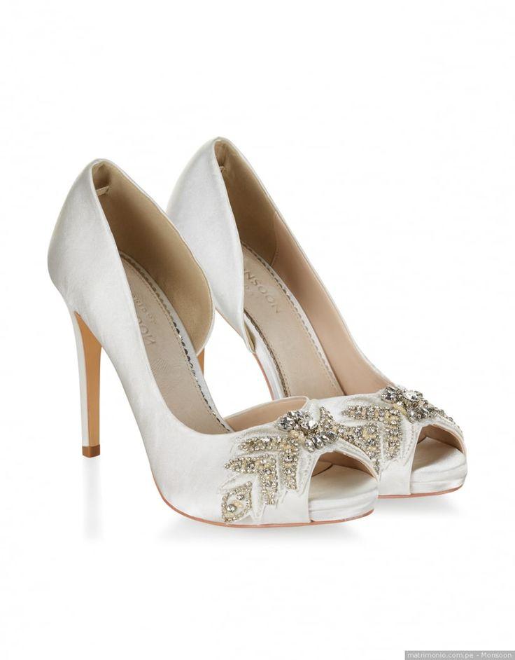 184 best zapatos de novia images on pinterest for Diseno de zapatos