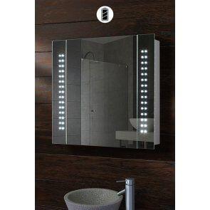 Photonic Illuminated LED Battery Bathroom Mirror Cabinet