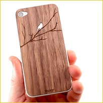 TOAST iPhone cover Bird on Branch